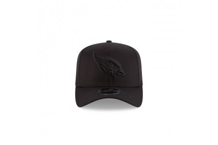ARIZONA CARDINALS BLACK ON BLACK STRETCH SNAP 9FIFTY SNAPBACK