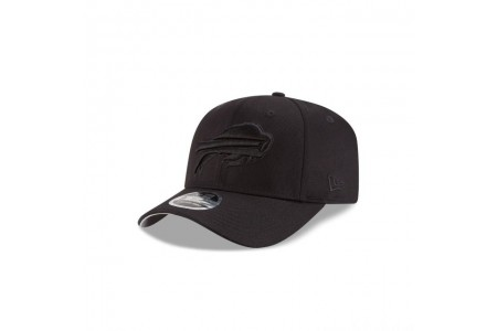 Black Friday Sale - BUFFALO BILLS BLACK ON BLACK STRETCH SNAP 9FIFTY SNAPBACK