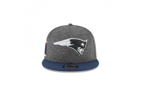 NEW ENGLAND PATRIOTS GRAPHITE SIDELINE HOME 9FIFTY SNAPBACK - Sale
