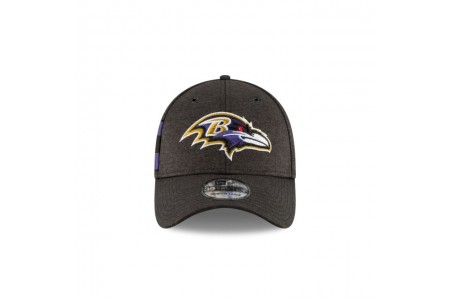 BALTIMORE RAVENS OFFICIAL SIDELINE HOME 39THIRTY STRETCH FIT