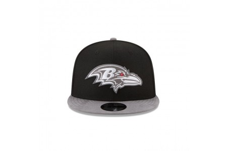 BALTIMORE RAVENS TONAL CHOICE BLACK 9FIFTY SNAPBACK - Sale