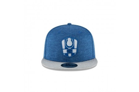 INDIANAPOLIS COLTS OFFICIAL SIDELINE ROAD KIDS 9FIFTY SNAPBACK
