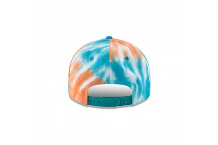 MIAMI DOLPHINS MARBLED RETRO CROWN 9FIFTY SNAPBACK - Sale