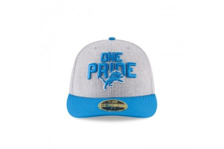 DETROIT LIONS NFL DRAFT ON STAGE LOW PROFILE 59FIFTY FITTED - Sale