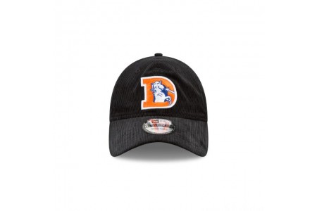 DENVER BRONCOS BLACK CORDUROY 9TWENTY ADJUSTABLE - Sale