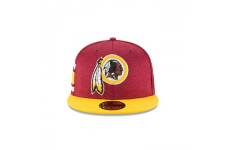 WASHINGTON REDSKINS OFFICIAL SIDELINE HOME 59FIFTY FITTED - Sale