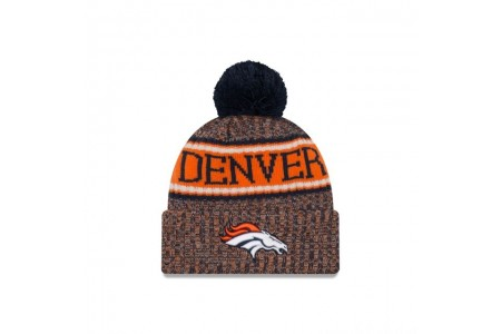 DENVER BRONCOS REVERSED COLD WEATHER SPORT KNIT - Sale