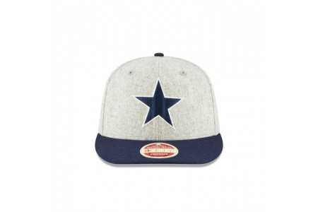 Black Friday Sale - DALLAS COWBOYS MELTON WOOL THROWBACK 9FIFTY SNAPBACK