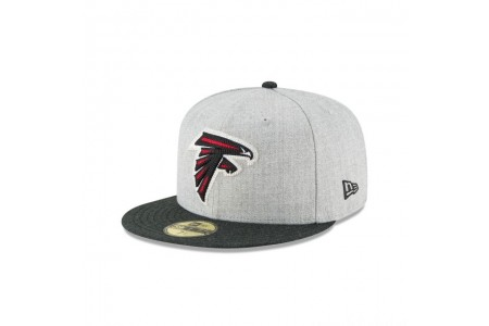 ATLANTA FALCONS HEATHER CRISP 59FIFTY FITTED