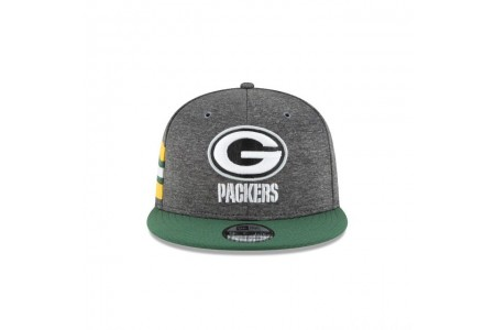 GREEN BAY PACKERS GRAPHITE SIDELINE HOME 9FIFTY SNAPBACK
