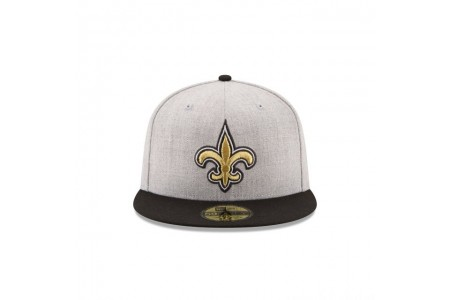 NEW ORLEANS SAINTS HEATHER ACTION 59FIFTY FITTED - Sale