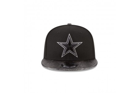 DALLAS COWBOYS SNAKESKIN BLACK 9FIFTY SNAPBACK
