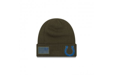 INDIANAPOLIS COLTS SALUTE TO SERVICE CUFF KNIT