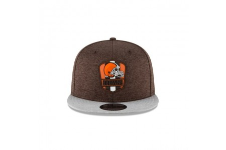 CLEVELAND BROWNS OFFICIAL SIDELINE ROAD 9FIFTY SNAPBACK - Sale