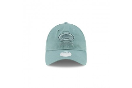 Black Friday Sale GREEN BAY PACKERS CORE CLASSIC TONAL BEACH KISS BLUE WOMENS 9TWENTY ADJUSTABLE