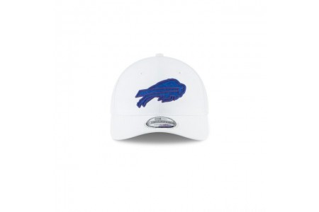 Black Friday Sale - BUFFALO BILLS NFL TRAINING WHITE 9TWENTY ADJUSTABLE