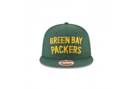 GREEN BAY PACKERS VINTAGE TEAM THREAD 9FIFTY SNAPBACK - Sale