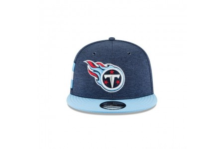 TENNESSEE TITANS OFFICIAL SIDELINE HOME 9FIFTY SNAPBACK