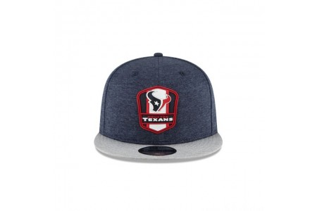 HOUSTON TEXANS OFFICIAL SIDELINE ROAD 9FIFTY SNAPBACK