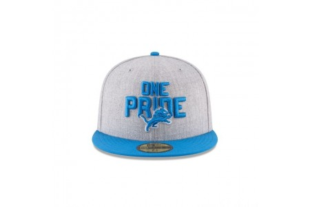 DETROIT LIONS NFL DRAFT 59FIFTY FITTED