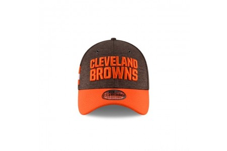 CLEVELAND BROWNS OFFICIAL SIDELINE HOME 39THIRTY STRETCH FIT - Sale