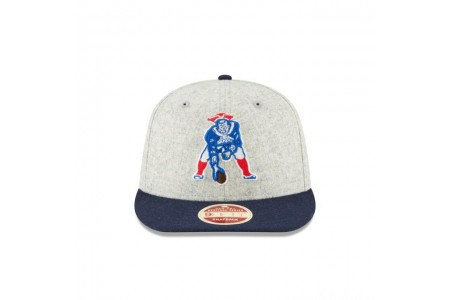 NEW ENGLAND PATRIOTS MELTON WOOL THROWBACK 9FIFTY SNAPBACK - Sale