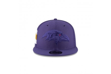 Black Friday Sale - BALTIMORE RAVENS COLOR RUSH KIDS 9FIFTY SNAPBACK