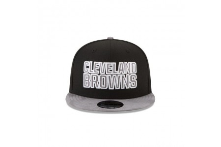 CLEVELAND BROWNS TONAL CHOICE BLACK 9FIFTY SNAPBACK