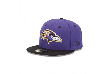 BALTIMORE RAVENS 2TONE 59FIFTY FITTED - Sale
