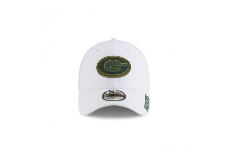 GREEN BAY PACKERS NFL TRAINING WHITE 39THIRTY STRETCH FIT