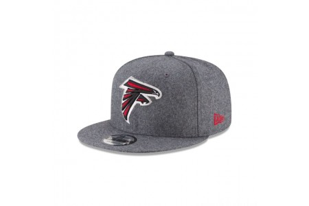 ATLANTA FALCONS MELTON WOOL 9FIFTY SNAPBACK