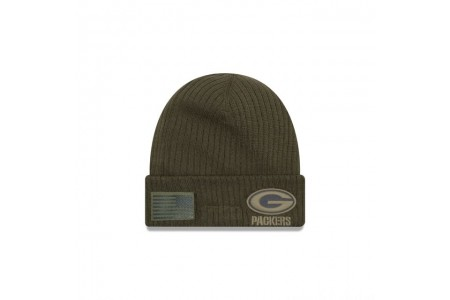 GREEN BAY PACKERS SALUTE TO SERVICE CUFF KNIT