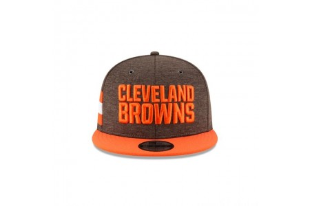 CLEVELAND BROWNS OFFICIAL SIDELINE HOME 9FIFTY SNAPBACK