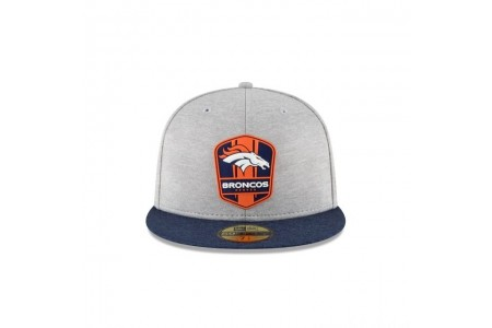 DENVER BRONCOS OFFICIAL SIDELINE ROAD 59FIFTY FITTED