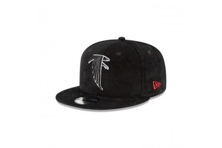 Black Friday Sale - ATLANTA FALCONS BLACK CORDUROY 9FIFTY SNAPBACK