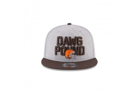 CLEVELAND BROWNS NFL DRAFT 9FIFTY SNAPBACK - Sale