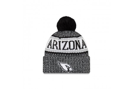 ARIZONA CARDINALS BLACK AND WHITE COLD WEATHER SPORT KNIT