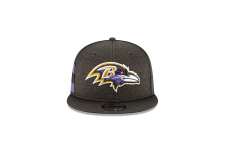 BALTIMORE RAVENS OFFICIAL SIDELINE HOME 9FIFTY SNAPBACK - Sale