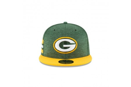 GREEN BAY PACKERS OFFICIAL SIDELINE HOME 59FIFTY FITTED