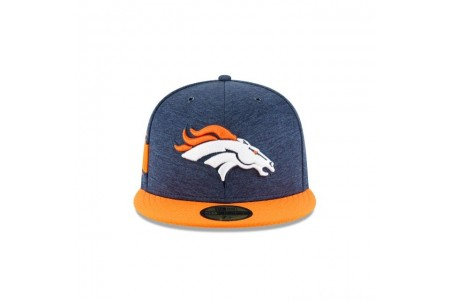 DENVER BRONCOS OFFICIAL SIDELINE HOME 59FIFTY FITTED