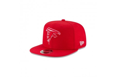 ATLANTA FALCONS SCARLET HIGH CROWN 9FIFTY SNAPBACK - Sale