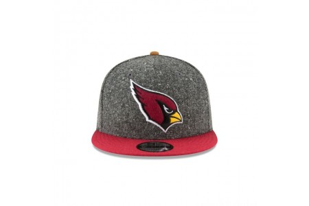 ARIZONA CARDINALS SUEDE ON TWEED 9FIFTY STRAPBACK - Sale
