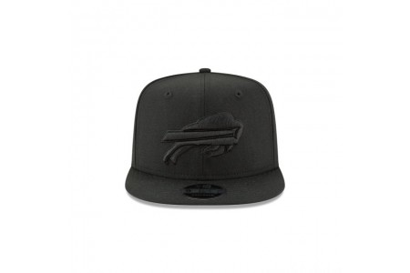 BUFFALO BILLS BLACK ON BLACK HIGH CROWN 9FIFTY SNAPBACK - Sale