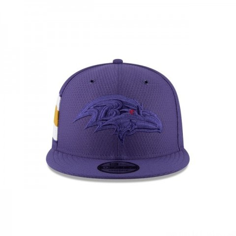 BALTIMORE RAVENS COLOR RUSH 9FIFTY SNAPBACK - Sale