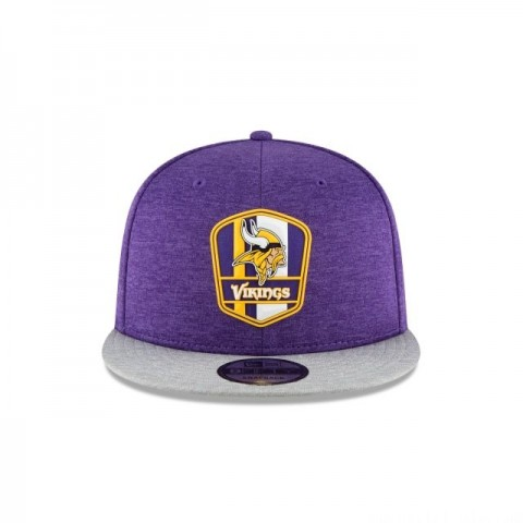 MINNESOTA VIKINGS OFFICIAL SIDELINE ROAD 9FIFTY SNAPBACK - Sale