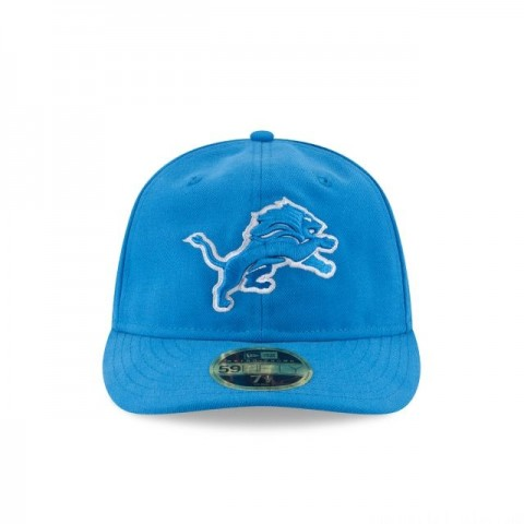 DETROIT LIONS FAN FIT RETRO CROWN 59FIFTY FITTED - Sale