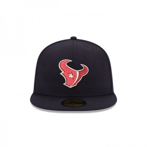 HOUSTON TEXANS CRAFTED IN THE USA 59FIFTY FITTED