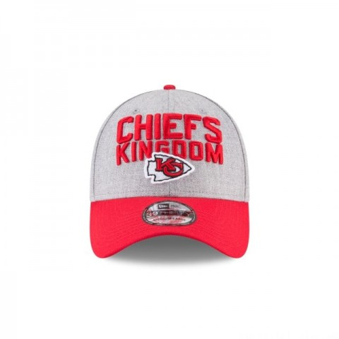 KANSAS CITY CHIEFS KIDS NFL DRAFT 39THIRTY STRETCH FIT