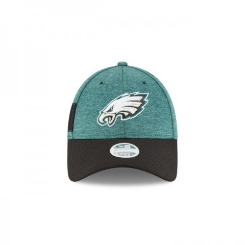 PHILADELPHIA EAGLES OFFICIAL WOMENS NFL SIDELINE HOME 9FORTY ADJUSTABLE - Sale