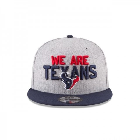 HOUSTON TEXANS KIDS NFL DRAFT 9FIFTY SNAPBACK